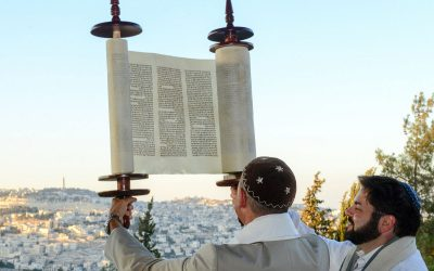 Going Back to the Beginning on Simchat Torah