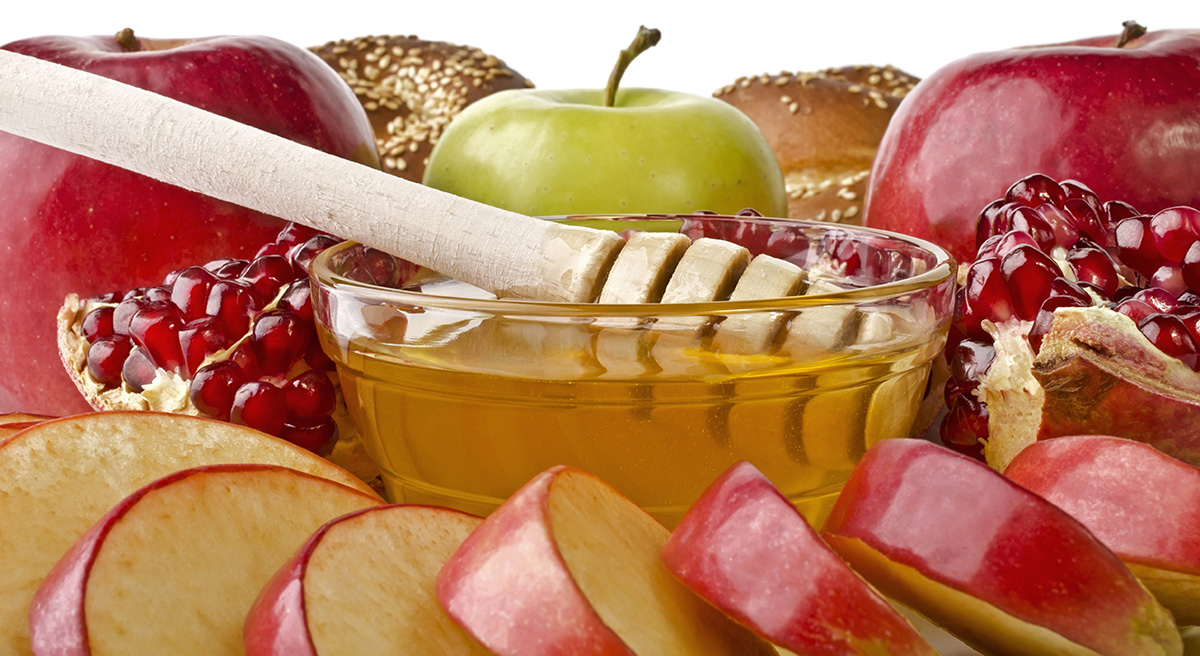 Rosh Hashana Apples and Honey