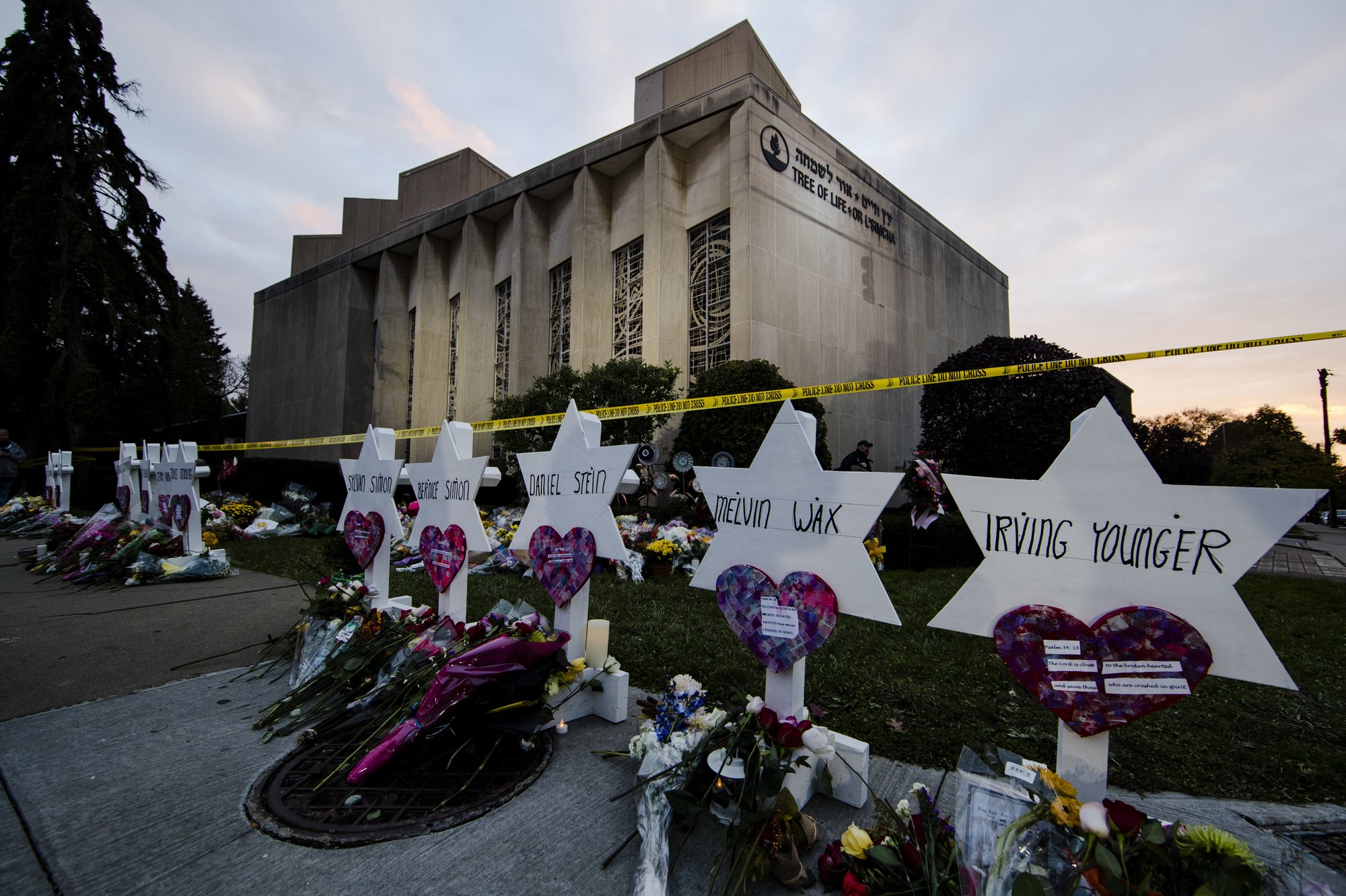 Tree of Life Synagogue Memorial